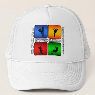 Spectacular Mountain Climbing Trucker Hat
