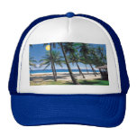 Spectacular Ocean and Beach View Design Hat