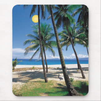 Spectacular Ocean and Beach View Design Mouse Pad