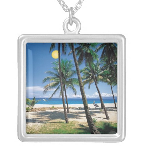 Spectacular Ocean and Beach View Necklace