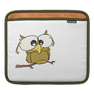 Spectacular Owl iPad Sleeve