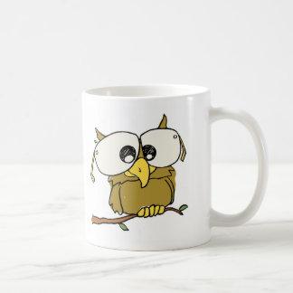 Spectacular Owl Classic White Coffee Mug