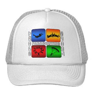 Spectacular Parachuting Trucker Hat