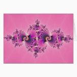 Spectacular Pink - Fractal Card