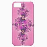 Spectacular Pink - Fractal Cover For iPhone 5C
