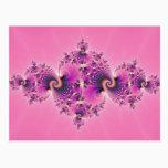 Spectacular Pink - Fractal Postcard