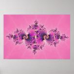 Spectacular Pink - Fractal Poster