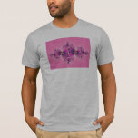 Spectacular Pink - Fractal T-Shirt