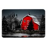 Spectacular Red Barn - Premium Magnet