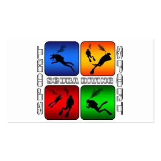 Spectacular Scuba Diving Business Card Templates