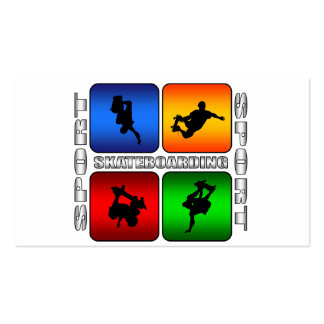 Spectacular Skateboarding Double-Sided Standard Business Cards (Pack Of 100)