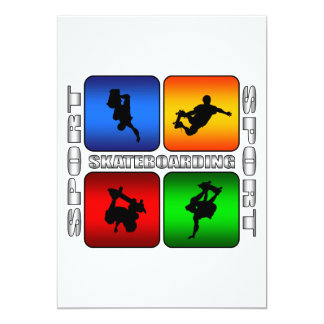 Spectacular Skateboarding Card