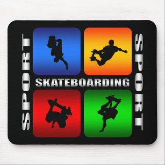 Spectacular Skateboarding Mouse Pad