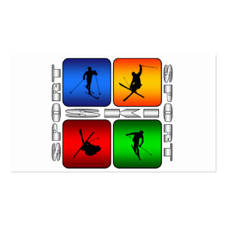 Spectacular Ski Double-Sided Standard Business Cards (Pack Of 100)