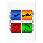 Spectacular Skydiving Custom Invite