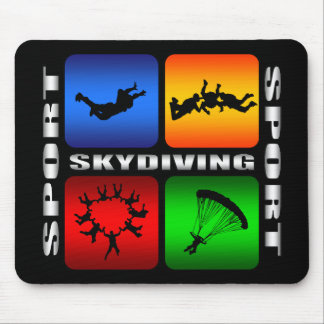 Spectacular Skydiving Mouse Pad