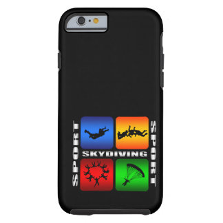 Spectacular Skydiving Tough iPhone 6 Case