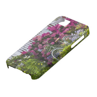 Spectacular spring bloom, whimsical antique iPhone SE/5/5s case