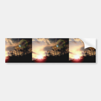 Spectacular Sunrise In The Southern Appalachian Mo Bumper Stickers