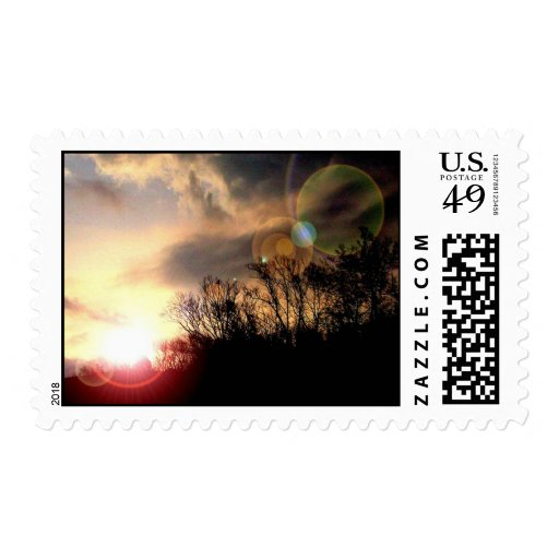 Spectacular Sunrise In The Southern Appalachian Mo Stamps