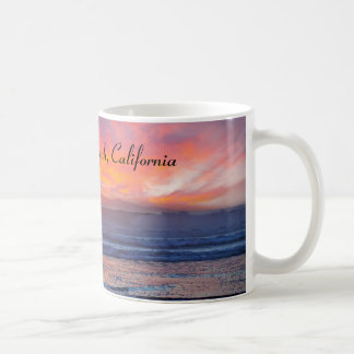 Spectacular Sunset at Huntington Beach Coffee Mug