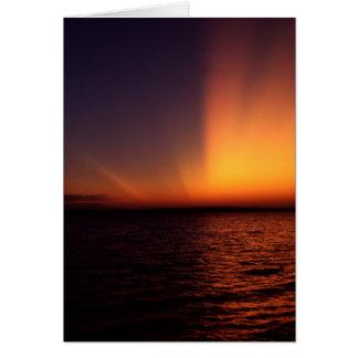 Spectacular Sunset Greeting Card