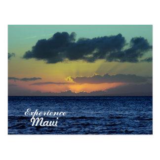 Spectacular Sunset, Lahaina, Maui Hawaii Postcard