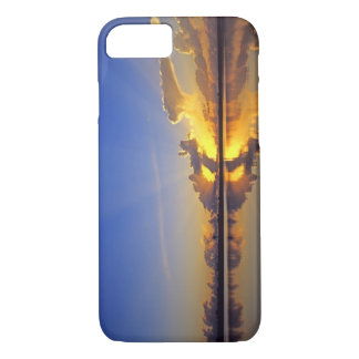 Spectacular Sunset over the Little Muddy River iPhone 7 Case