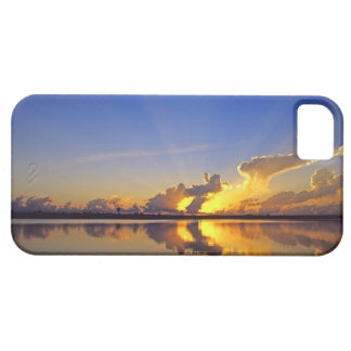 Spectacular Sunset over the Little Muddy River iPhone SE/5/5s Case
