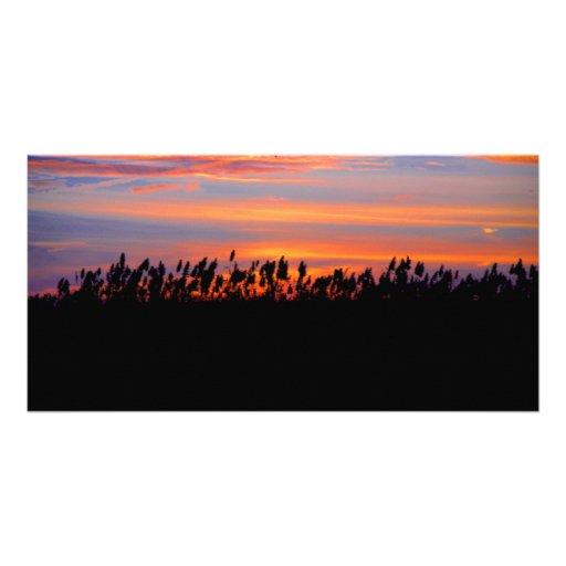 Spectacular Sunset Photo Card Template