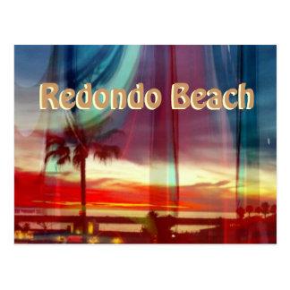 Spectacular Sunset Redondo Beach Postcard