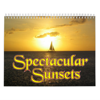 Spectacular Sunsets Calendar