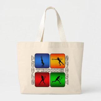 Spectacular Tennis (Female) Jumbo Tote Bag