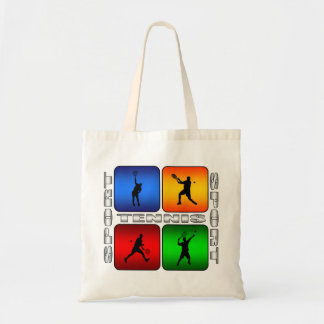 Spectacular Tennis (Male) Budget Tote Bag