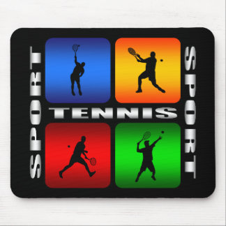 Spectacular Tennis (Male) Mouse Pad