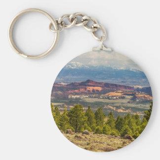 Spectacular Utah Landscape Views Basic Round Button Keychain