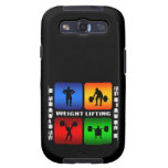 Spectacular Weight Lifting Samsung Galaxy SIII Covers