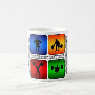 Spectacular Weight Lifting Classic White Coffee Mug