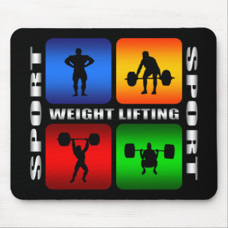 Spectacular Weight Lifting Mouse Pad