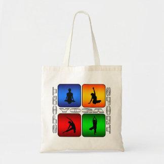 Spectacular Yoga Budget Tote Bag