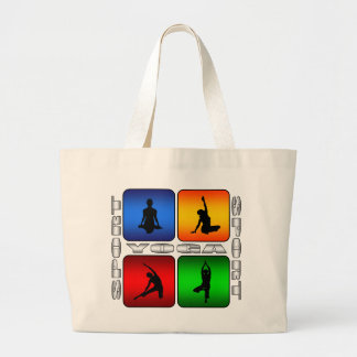 Spectacular Yoga Jumbo Tote Bag