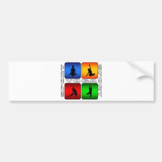 Spectacular Yoga Bumper Sticker
