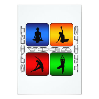 Spectacular Yoga Card