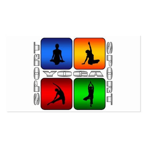 Spectacular Yoga Double-Sided Standard Business Cards (Pack Of 100)
