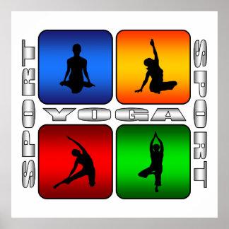 Spectacular Yoga Poster