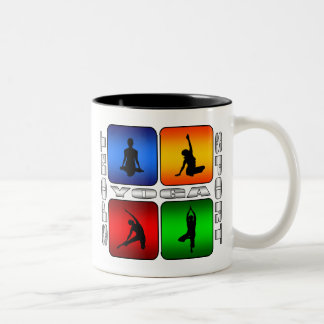 Spectacular Yoga Two-Tone Coffee Mug
