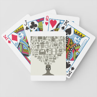 Spectator Bicycle Playing Cards