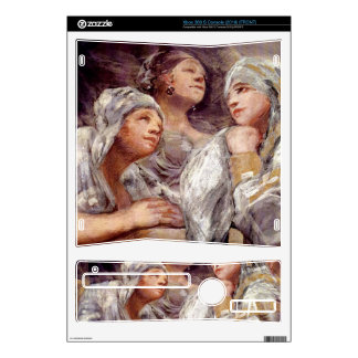 Spectators by Francisco de Goya Decals For Xbox 360 S