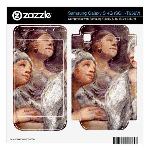 Spectators by Francisco de Goya Samsung Galaxy S 4G Skin