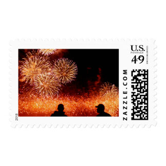 Spectators Stamp
